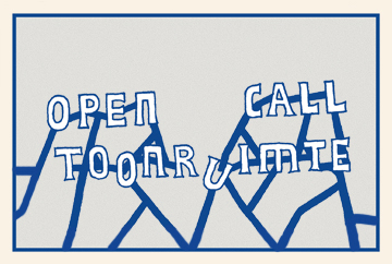 GAST(e) // OPEN CALL TOONRUIMTE