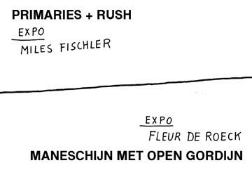 EXPO // MILES FISCHLER + FLEUR DE ROECK