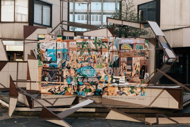 ART IN PUBLIC SPACE // (INTER)NATIONAL AFFAIRS – Clemens Behr (DE) X Frederik Lizen (BE) (21.06 – 28.07.2019)