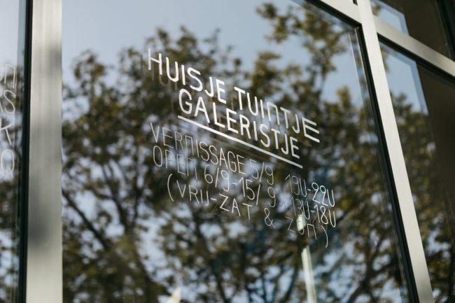 EXPO // HUISJE TUINTJE GALERISTJE // Felix Declercq x Emma Robertsson x Laurens Legiers x Floris Van Look (05.09 – 15.09)