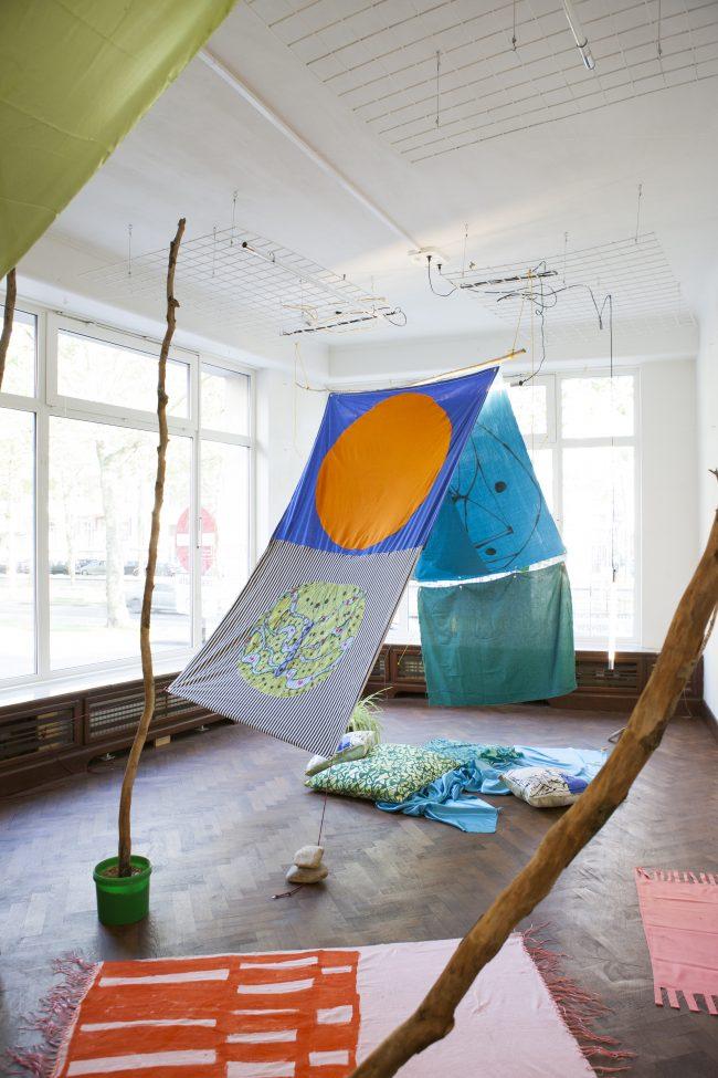 WORKSHOP & EXPO Zeefdrukken // CITROENRASP & VISSENGRAS // Karen Spiessens & Fleur De Roeck (12.08 – 25.08)